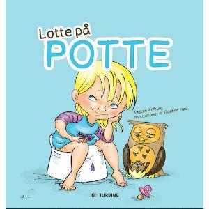 illustrativ Lotte billedbog om pottetræning