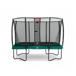 køb berg firkantet trampolin med net