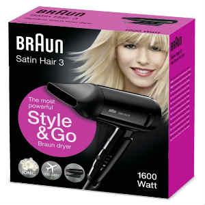 Køb den billige Braun styler til håret