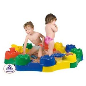 køb den enkle sandkasse i plast til vuggestue børn
