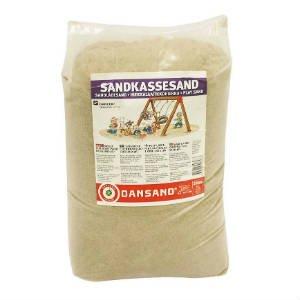 køb certificeret dansand sandkassesand i 20 kg sække
