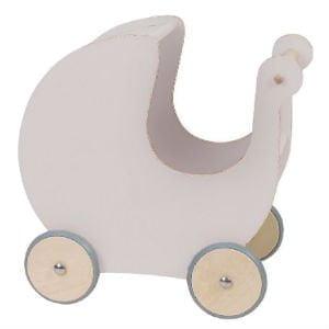 Sebra dukkevognen er klassisk legetøj til 1 årige piger