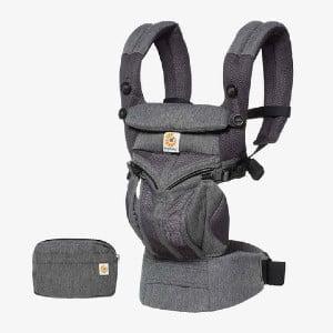 Omni 360 Cool Air Ergonomisk korrekt stilling, også når barnet sidder fremadvendt