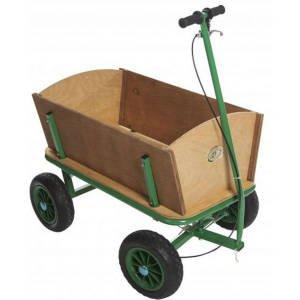 køb en trækvogn med bremse til børn