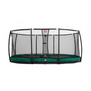 køb BERG Grand Champion 520 Inground Grøn inkl sikkerhedsnet