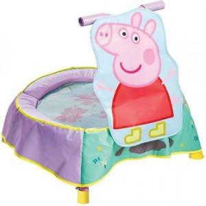 sød lille trampolin med Gurli Gris