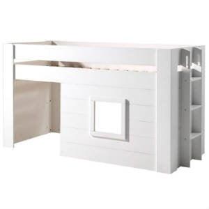 køb en seng med hus under sengepladsen