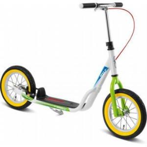 køb Puky løbehjul hvid og grøn - R07 L