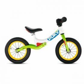 Cyklen har støjsvage hjul og en slagfast pulverlakering
