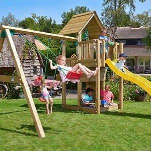 find det sjove legetårn til haven eller gården