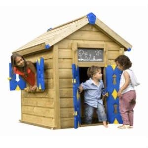 køb det lille Jungle Gym legehus til børnehavebørn