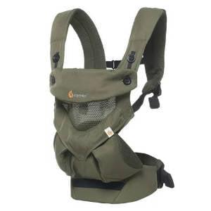 Ergobaby 360 Cool Air Mesh Bæresele for børn mellem 5,5 og 20 kg