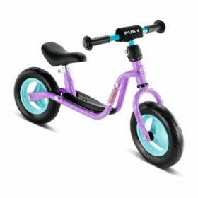 Lilla løbecykel med smart ekstraudstyr