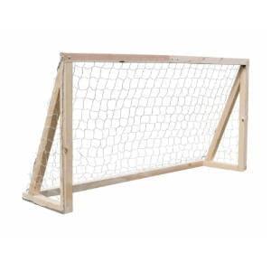 Nordic Play fodboldmål lille er fremstillet i ubehandlet fyrretræ
