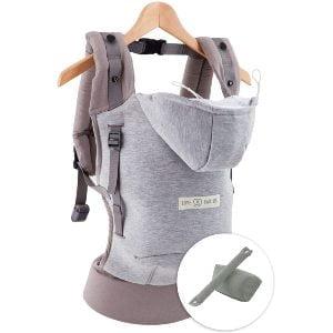Ergonomisk bæresele med babyindsats fra Love Radius