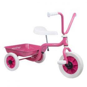 trehjulede cykel fra Winther i en rigtig prinsesse-udgave