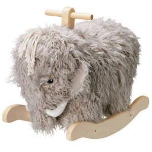 Giv den populære Mammut gyngehest i gave