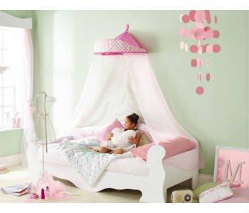 Giv den lyserøde Minnie Mouse seng til piger