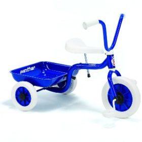 køb den blå Winther trehjulet cykel til drenge