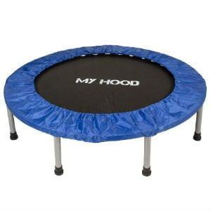 Fitness-trampolinen er perfekt til at styrke balancen og konditionen med