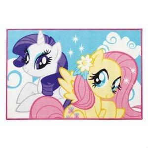 køb et my little pony gulvtæppe til 3-4 år