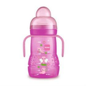 køb pink MAM Trainer 220 ml sutteflaske