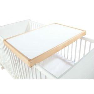 en pusleplade over sengen er det billige alternativ