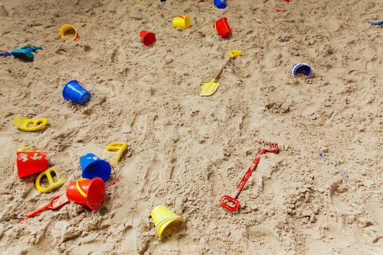 Plastik Sandkasse