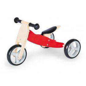 Pinolino Mini trehjulet cykel 'Charlie', rød/natur