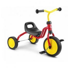 PUKY smarte trehjulet cykel Fitsch i rød passer til børn fra 1½ år