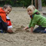 Sandkasse Sand
