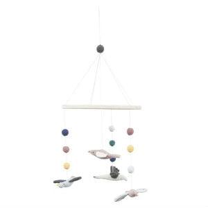 brug en Sebra uro med fugle på børneværelset