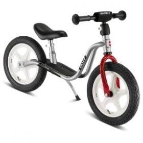 Puky løbecykel med støttefod sølv - LR 1L