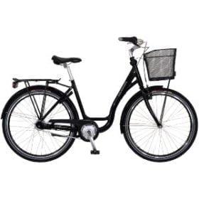 Dame shoppingcykel med lav indstigning og 26″