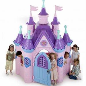 Køb et prinsesse legehus til indendørs brug
